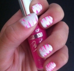 tiger stripes nail art