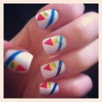 Make your own stickers nail art