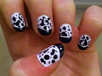 cowprint nails